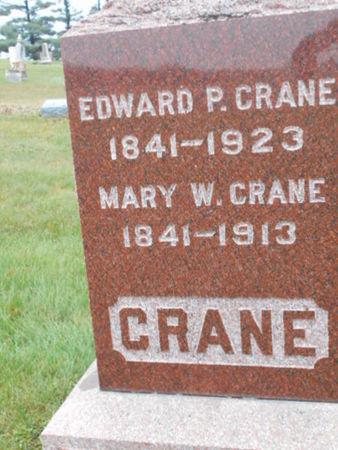 CRANE, MARY W. - Linn County, Iowa | MARY W. CRANE