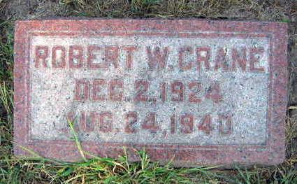 CRANE, ROBERT W. - Linn County, Iowa   ROBERT W. CRANE