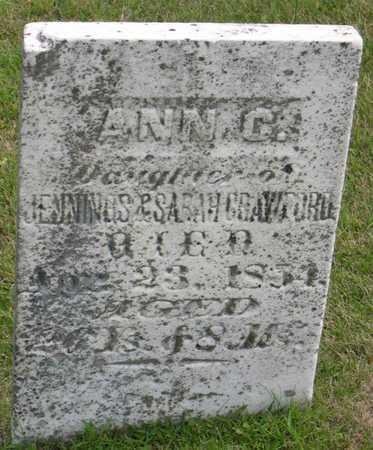 CRAWFORD, ANN C. - Linn County, Iowa | ANN C. CRAWFORD