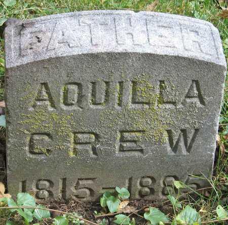 CREW, AQUILLA - Linn County, Iowa | AQUILLA CREW