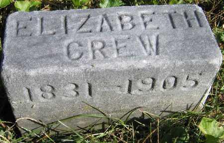 CREW, ELIZABETH - Linn County, Iowa | ELIZABETH CREW