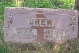 CREW, MAUDE - Linn County, Iowa | MAUDE CREW