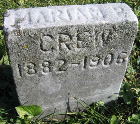 CREW, MARIAM P. - Linn County, Iowa | MARIAM P. CREW