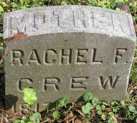 CREW, RACHEL F. - Linn County, Iowa | RACHEL F. CREW