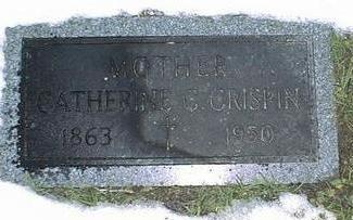 CRISPIN, CATHERINE C. - Linn County, Iowa | CATHERINE C. CRISPIN