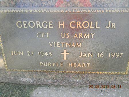 CROLL JR., GEORGE H. - Linn County, Iowa | GEORGE H. CROLL JR.