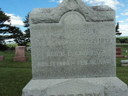JENNISON CROSBY, ALICE G. - Linn County, Iowa | ALICE G. JENNISON CROSBY