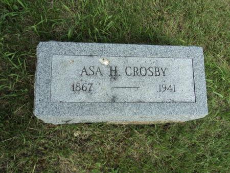 CROSBY, ASA H. - Linn County, Iowa   ASA H. CROSBY