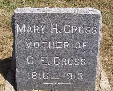 CROSS, MARY H. - Linn County, Iowa | MARY H. CROSS