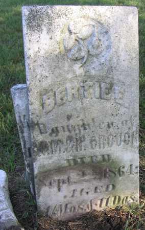 CROUCH, BERTIE E. - Linn County, Iowa   BERTIE E. CROUCH