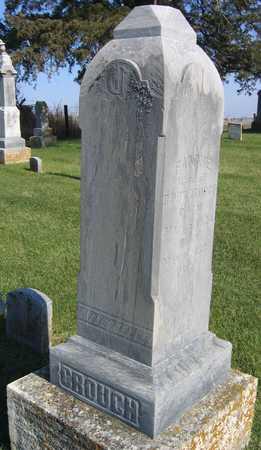 CROUCH, FAMILY STONE - Linn County, Iowa | FAMILY STONE CROUCH