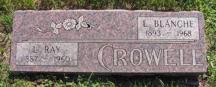 CROWELL, L. BLANCHE - Linn County, Iowa   L. BLANCHE CROWELL