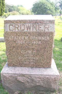 CROWNER, STATES R. - Linn County, Iowa | STATES R. CROWNER