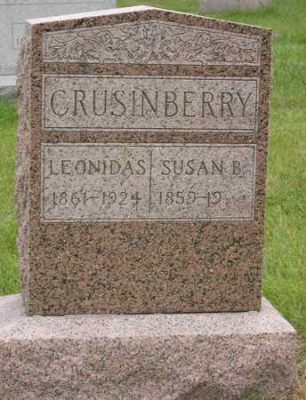 CRUSINBERRY, SUSAN B. - Linn County, Iowa   SUSAN B. CRUSINBERRY