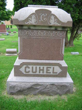 CUHEL, FAMILY STONE - Linn County, Iowa   FAMILY STONE CUHEL