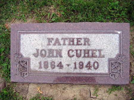 CUHEL, JOHN - Linn County, Iowa | JOHN CUHEL