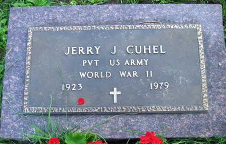 CUHEL, JERRY J. - Linn County, Iowa | JERRY J. CUHEL