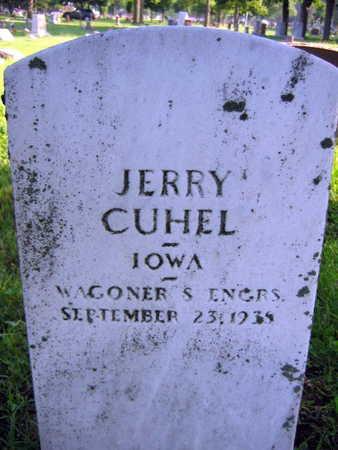 CUHEL, JERRY - Linn County, Iowa | JERRY CUHEL