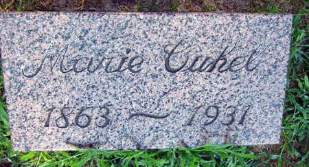 CUHEL, MARIE - Linn County, Iowa | MARIE CUHEL