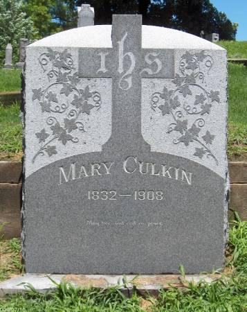 CULKIN, MARY - Linn County, Iowa | MARY CULKIN