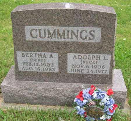 CUMMINGS, ADOLPH L. - Linn County, Iowa   ADOLPH L. CUMMINGS