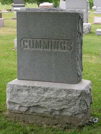 CUMMINGS, FAMILY STONE - Linn County, Iowa | FAMILY STONE CUMMINGS