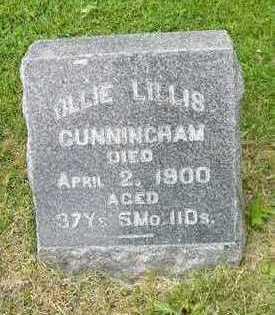 LILLIS CUNNINGHAM, OLLIE - Linn County, Iowa | OLLIE LILLIS CUNNINGHAM
