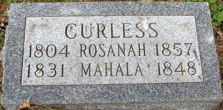 CURLESS, ROSANAH - Linn County, Iowa | ROSANAH CURLESS
