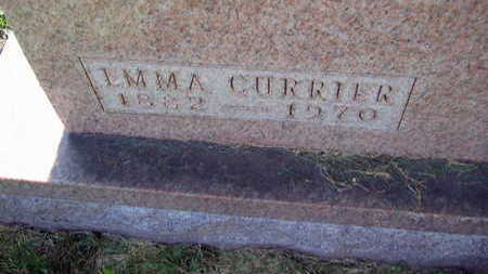 CURRIER, EMMA - Linn County, Iowa | EMMA CURRIER