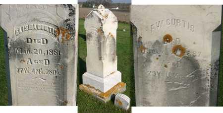 CURTIS, ELISHA - Linn County, Iowa | ELISHA CURTIS