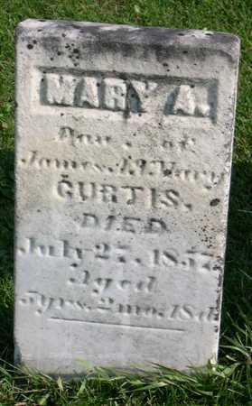 CURTIS, MARY A. - Linn County, Iowa | MARY A. CURTIS