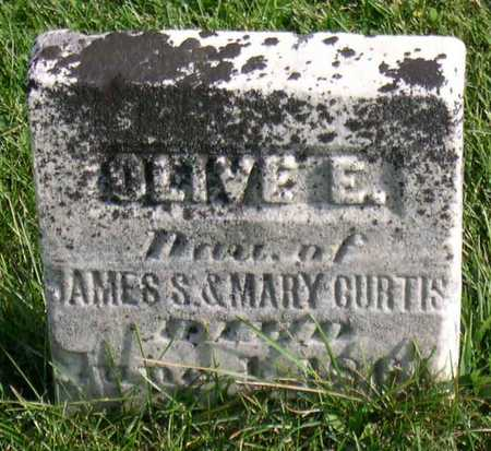 CURTIS, OLIVE E. - Linn County, Iowa | OLIVE E. CURTIS