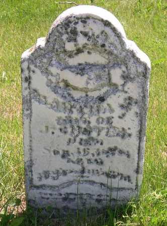 CUSTER, MARTHA J. - Linn County, Iowa | MARTHA J. CUSTER