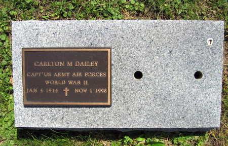 DAILEY, CARLTON M. - Linn County, Iowa   CARLTON M. DAILEY