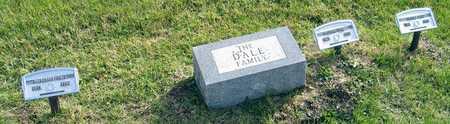 DALE, FAMILY STONE - Linn County, Iowa   FAMILY STONE DALE