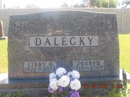 DALECKY, JOSEPH - Linn County, Iowa | JOSEPH DALECKY