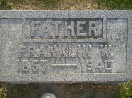 DANCE, FRANKLIN W. - Linn County, Iowa | FRANKLIN W. DANCE