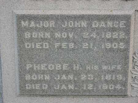 DANCE, PHEOBE H. - Linn County, Iowa | PHEOBE H. DANCE