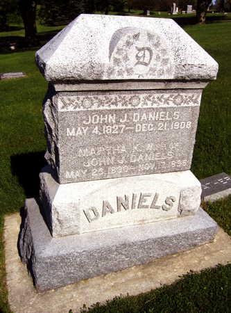 DANIELS, JOHN J. - Linn County, Iowa   JOHN J. DANIELS