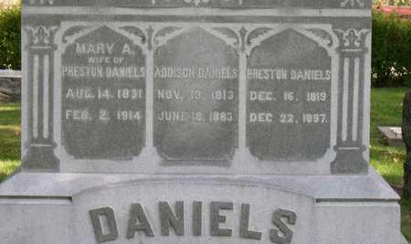 DANIELS, MARY A. - Linn County, Iowa | MARY A. DANIELS