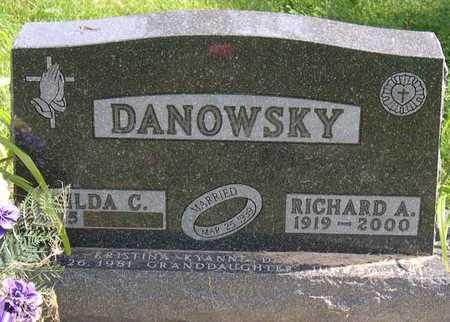 DANOWSKY, RICHARD A. - Linn County, Iowa   RICHARD A. DANOWSKY