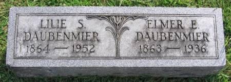 DAUBENMIER, ELMER E. - Linn County, Iowa | ELMER E. DAUBENMIER