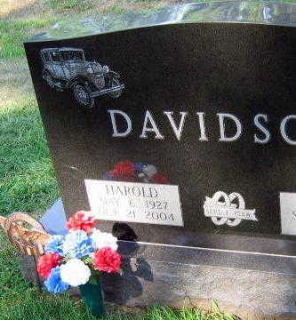 DAVIDSON, HAROLD - Linn County, Iowa   HAROLD DAVIDSON
