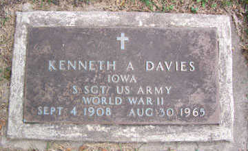 DAVIES, KENNETH A. - Linn County, Iowa | KENNETH A. DAVIES