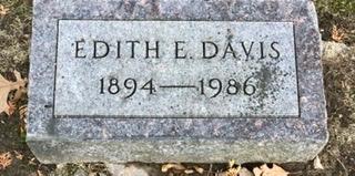 DAVIS, EDITH E. - Linn County, Iowa | EDITH E. DAVIS