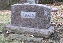 DAVIS, FAMILY STONE - Linn County, Iowa | FAMILY STONE DAVIS