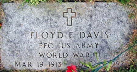 DAVIS, FLOYD E. - Linn County, Iowa   FLOYD E. DAVIS