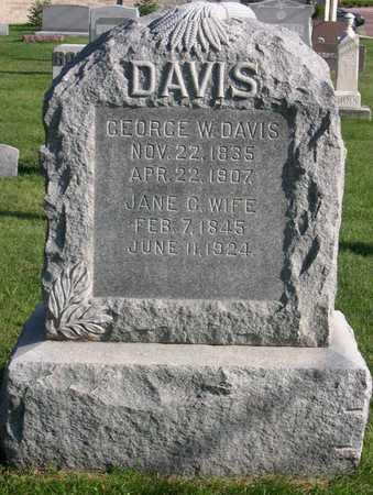 DAVIS, GEORGE W. - Linn County, Iowa | GEORGE W. DAVIS
