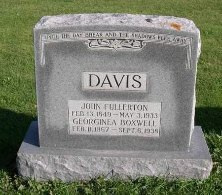 DAVIS, JOHN FULLERTON - Linn County, Iowa | JOHN FULLERTON DAVIS