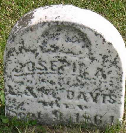 DAVIS, JOSEPH A. - Linn County, Iowa   JOSEPH A. DAVIS